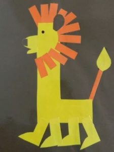 lion-craft-made-from-letter-l