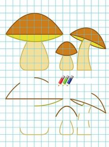 mushroom-coloring-pages