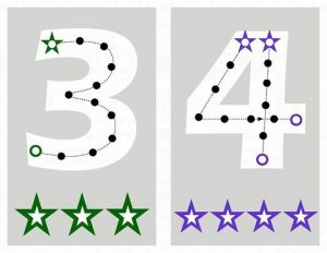 number-4-lacing-card