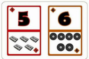 number flash cards primary teaching