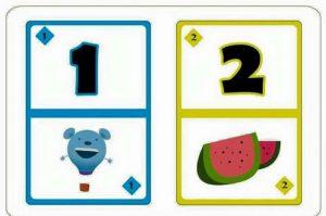 number flash kids cards