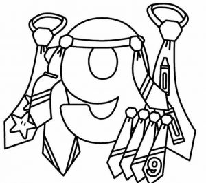number-nine-coloring-pages