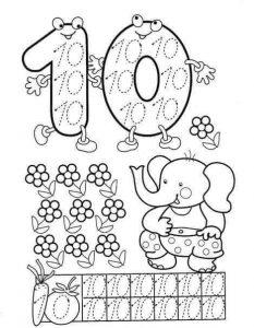 number-ten-handwriting-sheets-for-kids