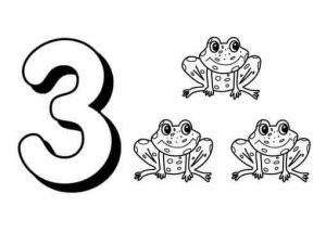 number-three-flashcads