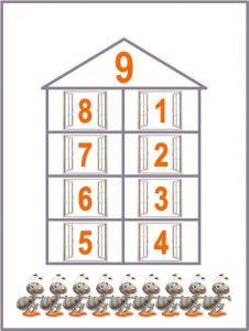 numeric houses free printables (6)