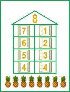 numeric houses free printables (8)