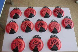 paper plate ladybug craft ideas
