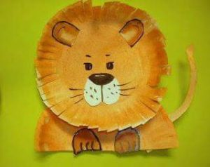 paper-plate-lion-craft-for-preschoolers-and-kindergarten-children-1