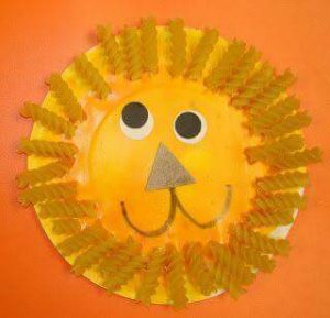 paper-plate-lion-craft-for-preschoolers-and-kindergarten-children-7