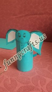 paper-roll-elephant-craft