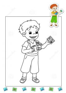 photographer-coloring-page