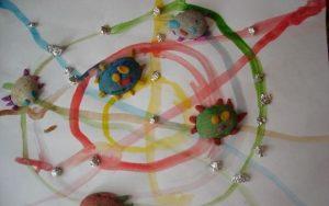 playdough-spider-crafts