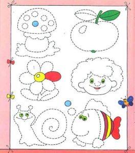 pre-writing worksheets for kindergarten