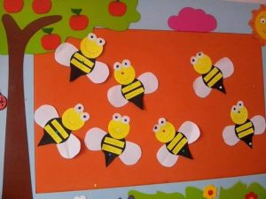 preschool-bee-craft