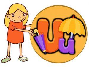 preschool-big-and-small-letter-u-printable