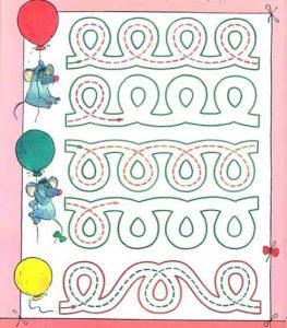 preschool handwriting
