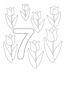 seven-coloring-page