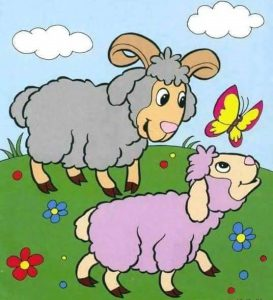 sheep-and-baby-coloring-page-1