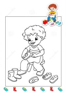 shoemaker-coloring-page