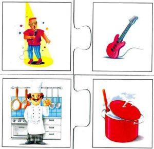 singer cooker flash cards for kids