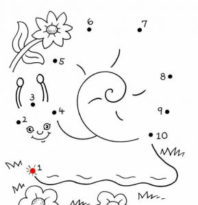 snail-mathematical-coloring-pages