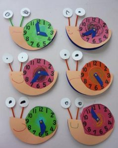 snail clock craft (1)