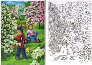spring-coloring