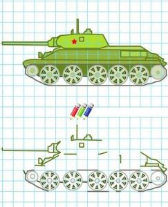 tank-coloring-pages