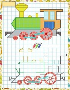 train-coloring-pages