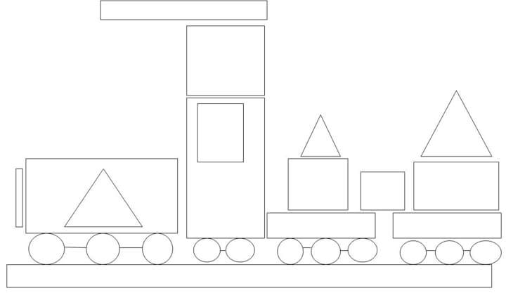 Coloring Pages Of Shapes. Polygon Shapes Coloring Page. Coloring ...