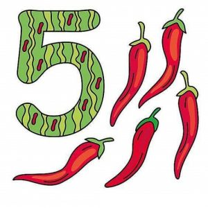 vegetables-number-flashcards