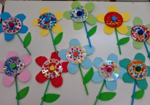 cd-flower-craft-ideas-1