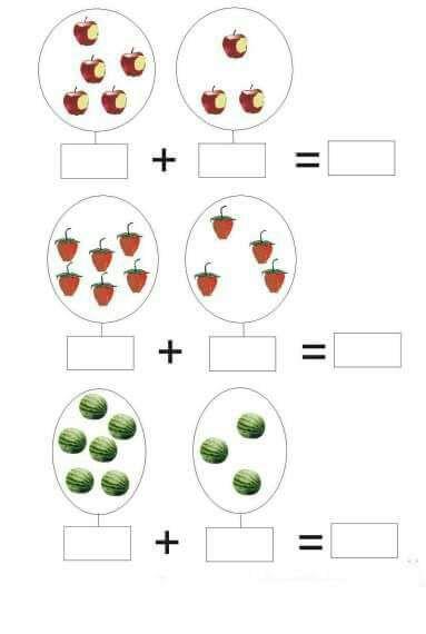 addition-worksheets-for-preschool-4 Â« funnycrafts