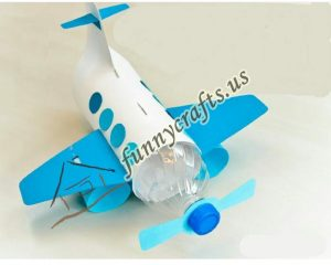 bottle-plane-craft-idea