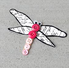 button-dragonfly-craft