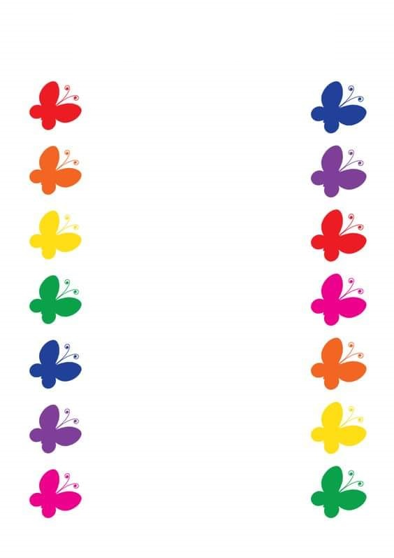 Color Activities For Kindergarten on Color By Shapes For Preschoolers