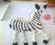 cotton-ball-zebra-crafts-for-kids