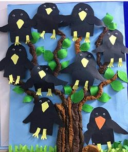 crow-and-tree-craft