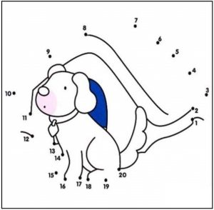 dog-dot-to-dot-coloring-pages