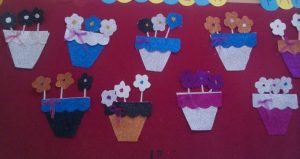 flowers-bulletin-board-idea