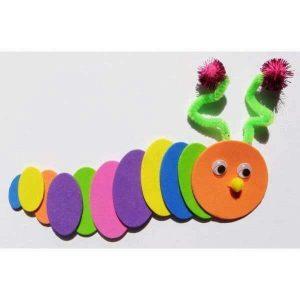 foam-caterpillar-craft