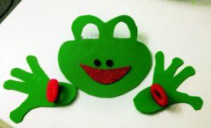 foam-frog-mask-craft