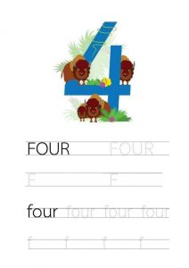 free-handwriting-number-4-four-worksheets-for-preschool-and-kindergarten