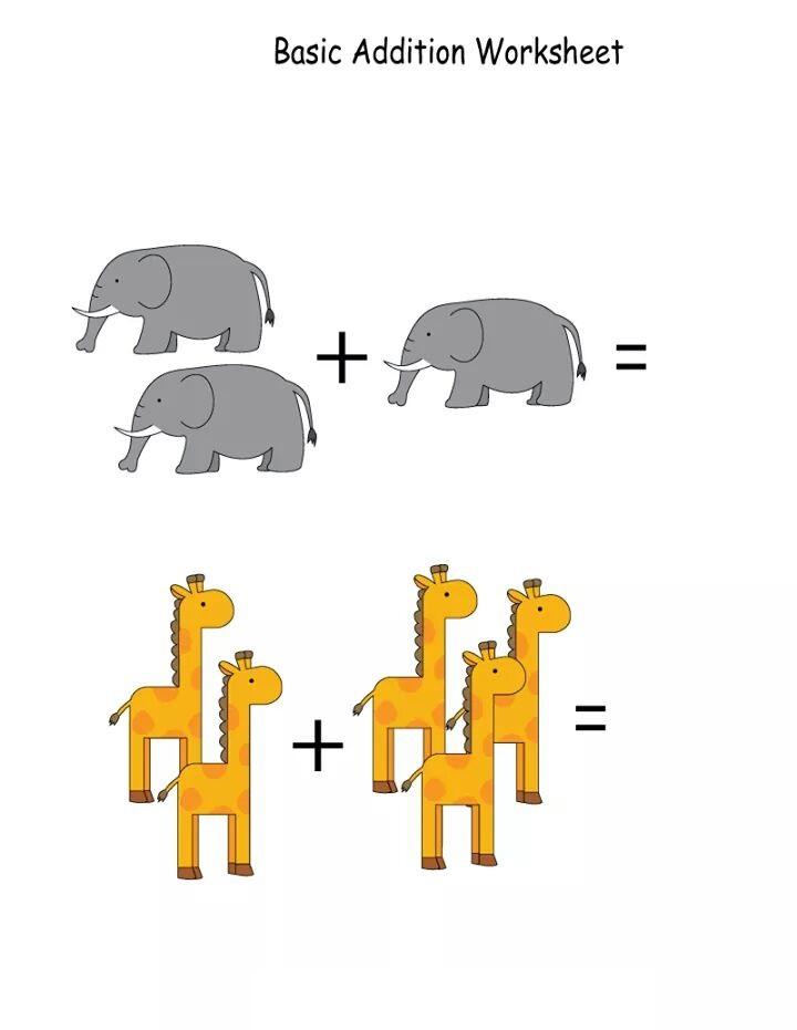 Kindergarten math worksheets – Simple Math Worksheets for Kindergarten