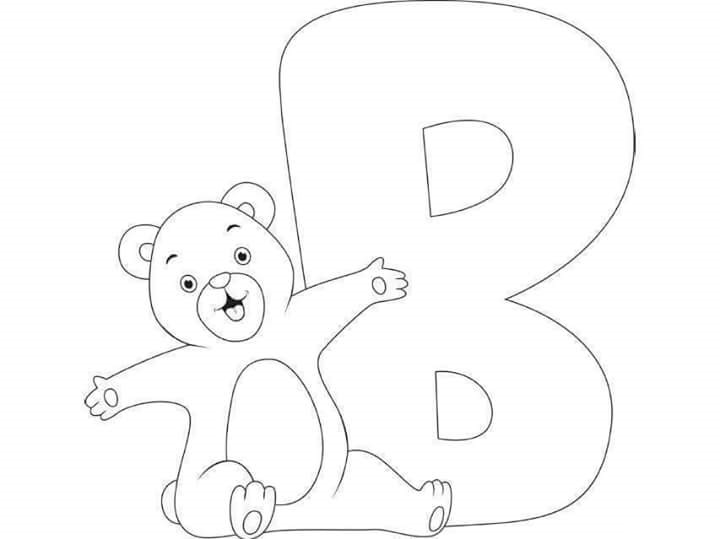 free-printable-letter-b-bear-coloring-pages-for-kids Â« funnycrafts