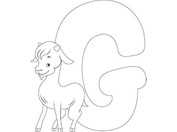 g coloring pages for kids - photo #26