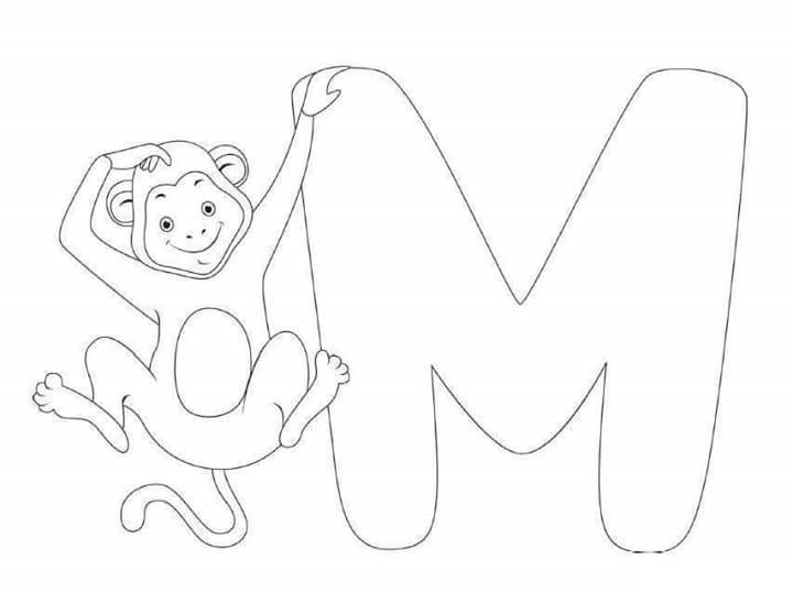free-printable-letter-m-monkey-coloring-pages-for-kids Â« funnycrafts