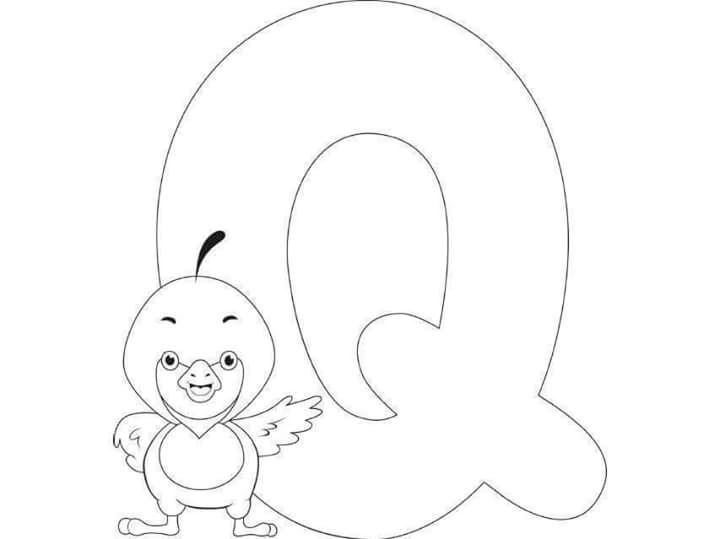 q coloring pages for kids - photo #23
