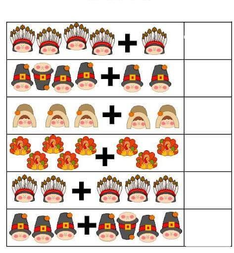 Kindergarten Addition Worksheets | funnycrafts