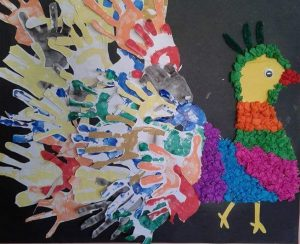 hand-paper-peacock-craft